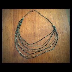 Women's multi strand necklace